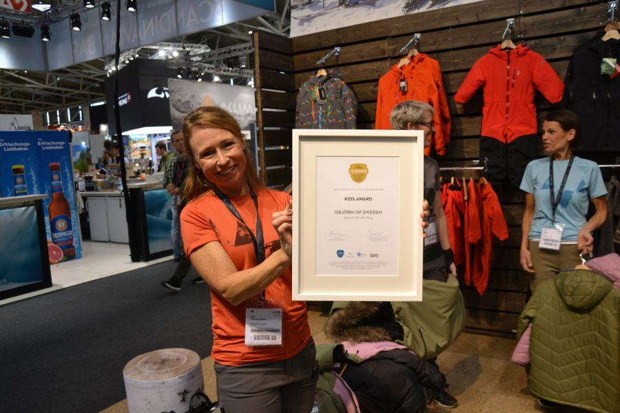 ISPO 2018 sbjoernofSweden Kids Award