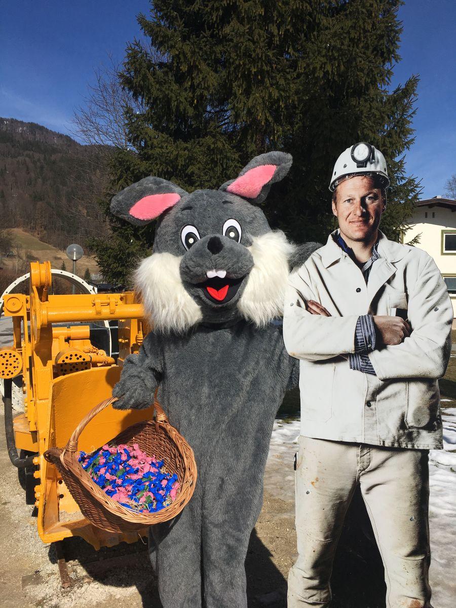 Ostereiersuche 2018 im Salzbergwerk