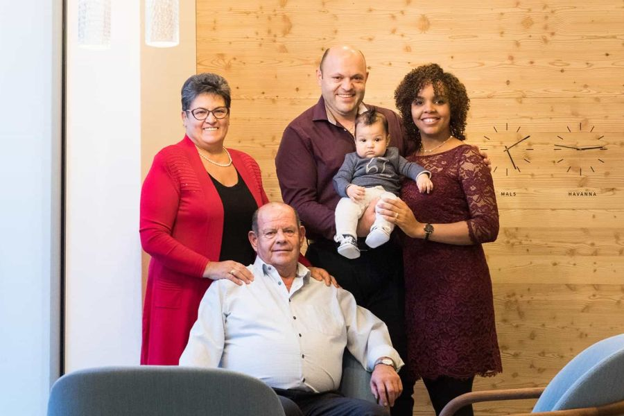 Garberhof - Die Familie