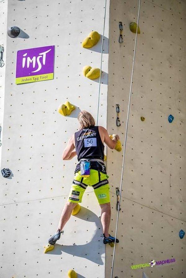 Interview mit Michael Füchsle - Profi-Kletterer mit Handicap (c)Michael Füchsle