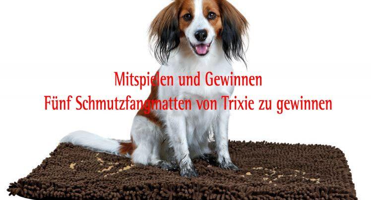Gewinnspiel: Fünf Trixie Schmutzfangmatten zu gewinnen (c)Trixie
