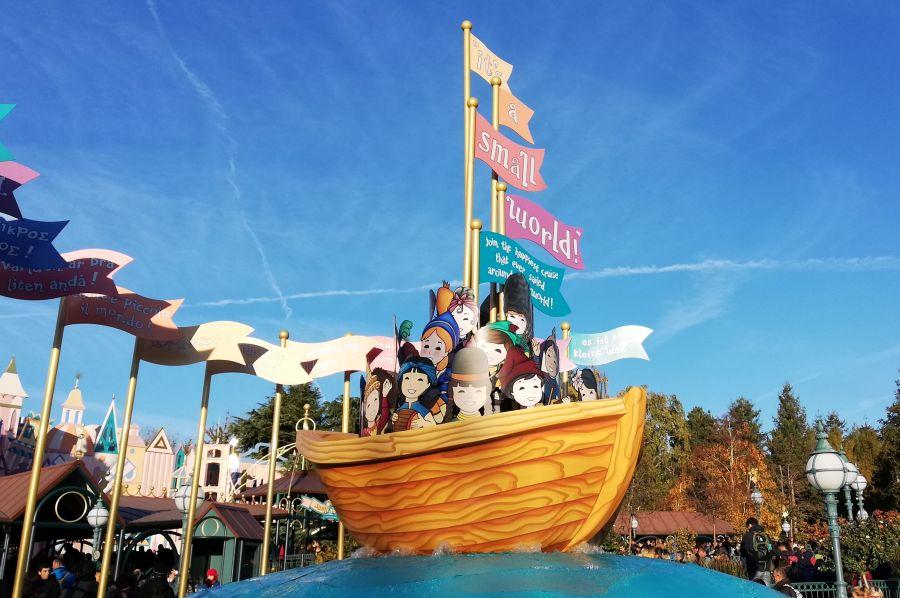 Aktuell auf Tour im Disneyland Paris
