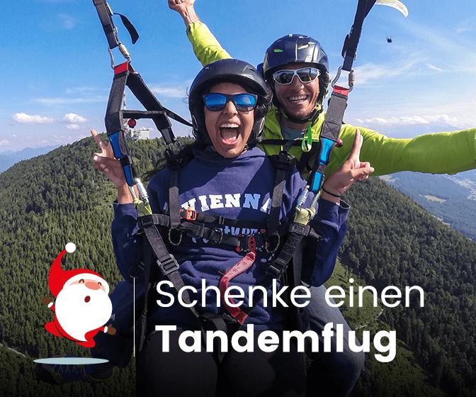 Dein Gleitschirm-Tandemflug-Abenteuer mit FlyTandem! Jetzt buchen oder Gutschein bestellen.