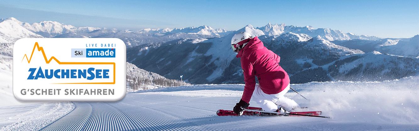 Skiparadies Zauchensee: G'scheit Skifahren