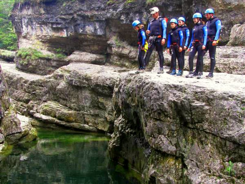 Photo of Canyoning mit dem R-E-T-Berchtesgaden