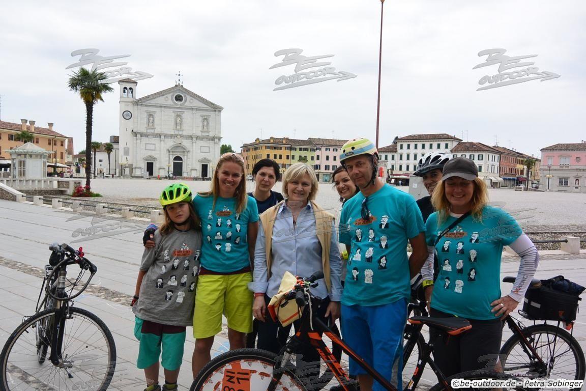 Über den Ciclovia Alpe Adria von Salzburg nach Grado (Teil3- Zieleinlauf)