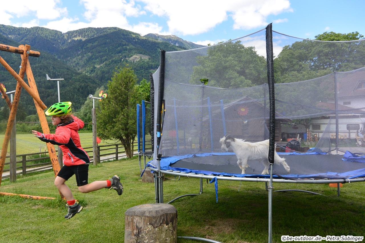 Über den Ciclovia Alpe Adria von Salzburg nach Grado - Tag 2 von Spittal nach Villach