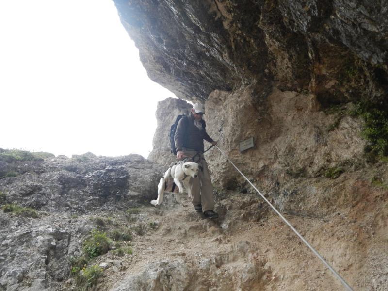 Cortina d´Ampezzo - Cascate di Fanes mit Mario Dibona