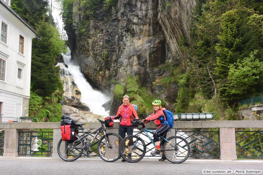 Über den Ciclovia Alpe Adria von Salzburg nach Grado - Tag 3 von Bad Hofgastein nach Spittal