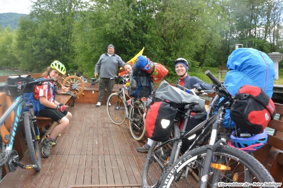 Über den Ciclovia Alpe Adria von Salzburg nach Grado - Tag 4 - Von Spittal nach Villach