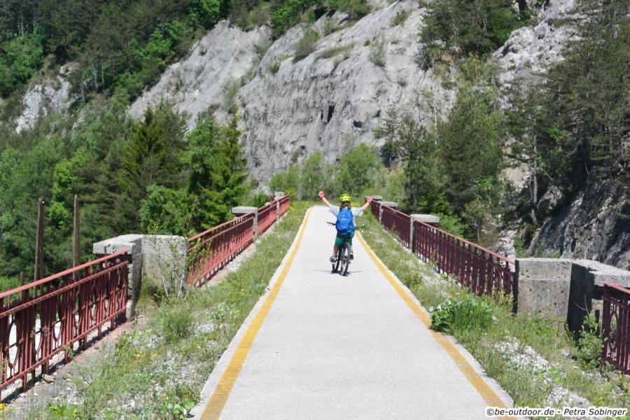 Photo of Ciclovia Alpe Adria – Etappe 6 – Von Tarvisio nach Moggio Udinese