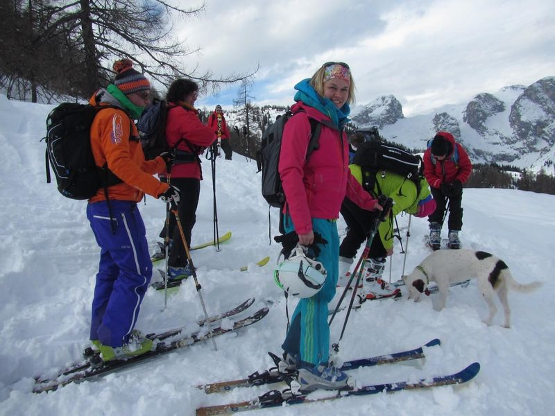 skitourenwinterladiescampkoreinabfahrt_2