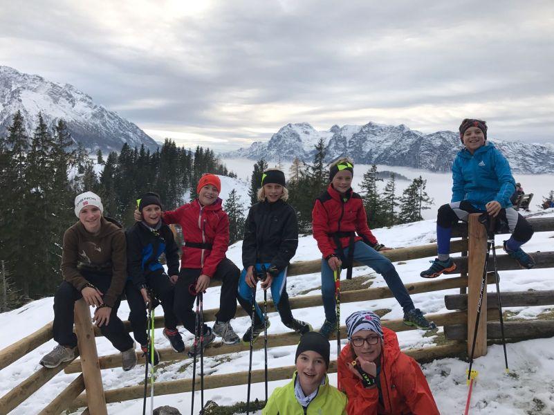 Photo of Die Kids von der Langlaufgruppe des WSV Bischofswiesen