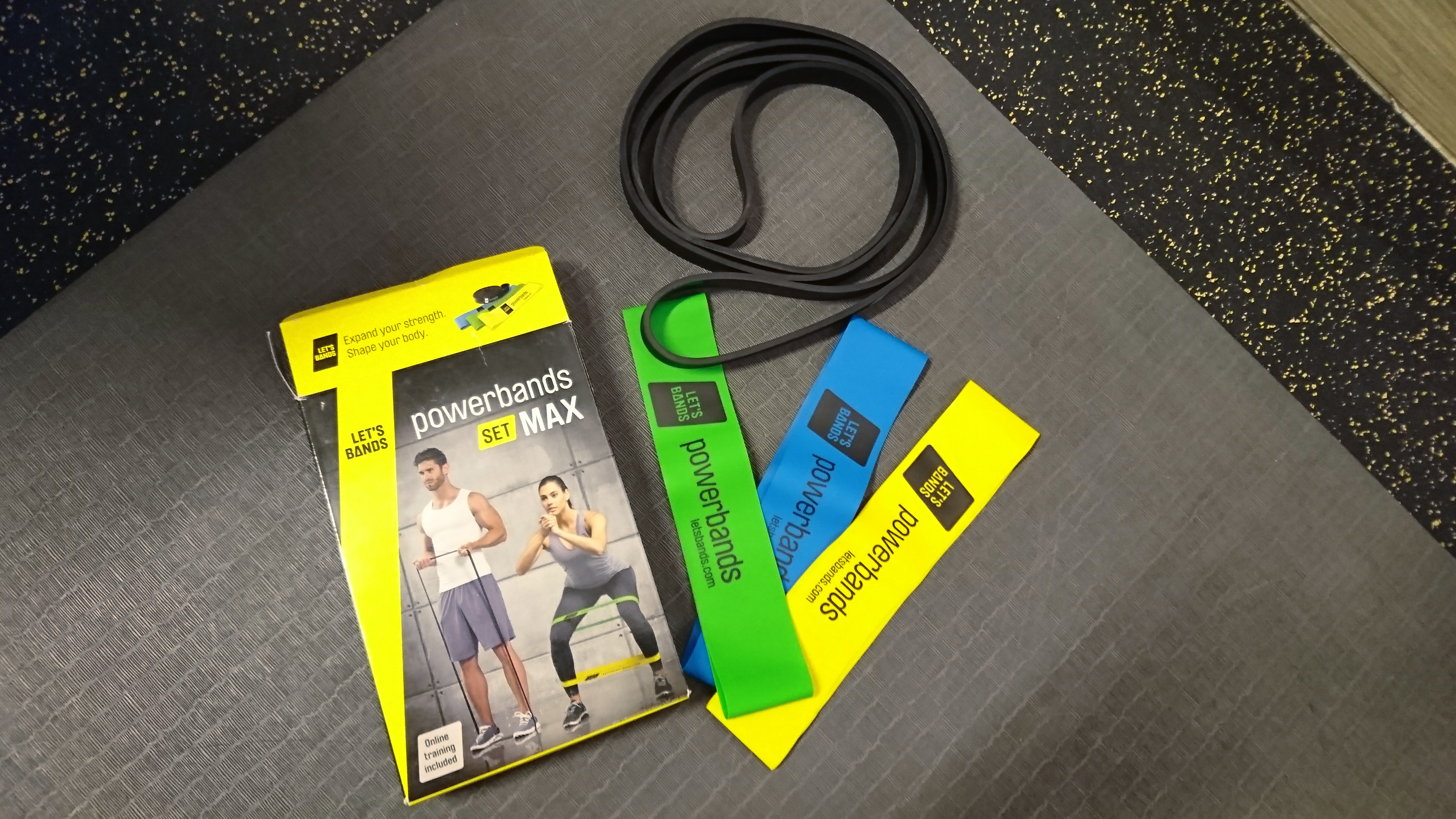 Produkttest Powerbands-Let's Bands - Fitnessbänder Test mit Sandy RedPearl