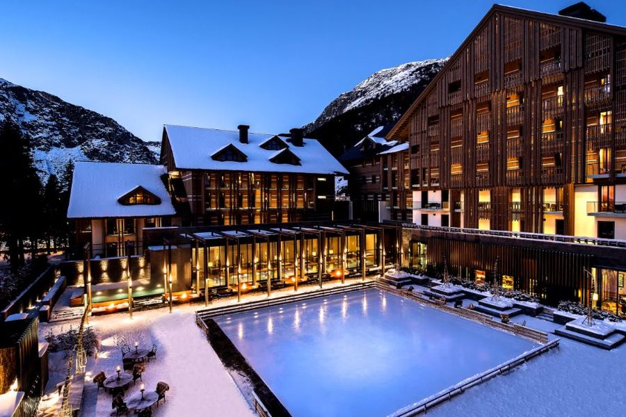 Wellness im Skigebiet (c) The Chedi Andermatt