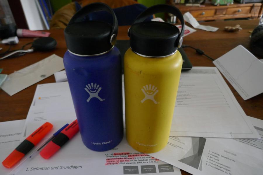 HydroFlask Wide Mouth - Heute: unser Heißgetränkspender in der Klausurphase an der Uni