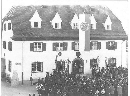 Das alte Rathaus in Bischofswiesen