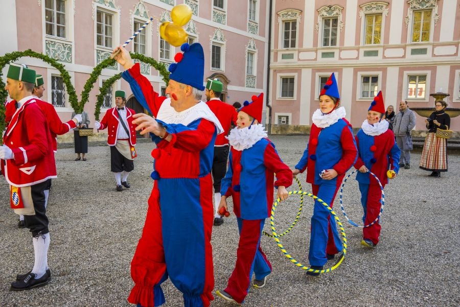Alle sieben Jahre wieder: Die Berchtesgadener Schäffler tanzen in diesem Jahr wieder (c)TSV Berchtesgaden