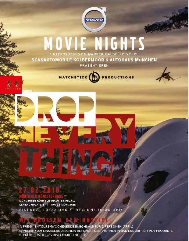 Drop Everything Volvo Movie Night