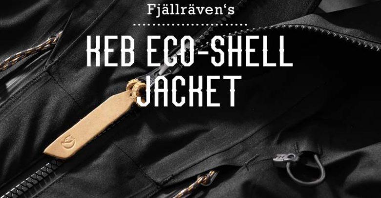 Photo of Asphalt Helden: Fjällräven KEB ECO-Shell Jacket