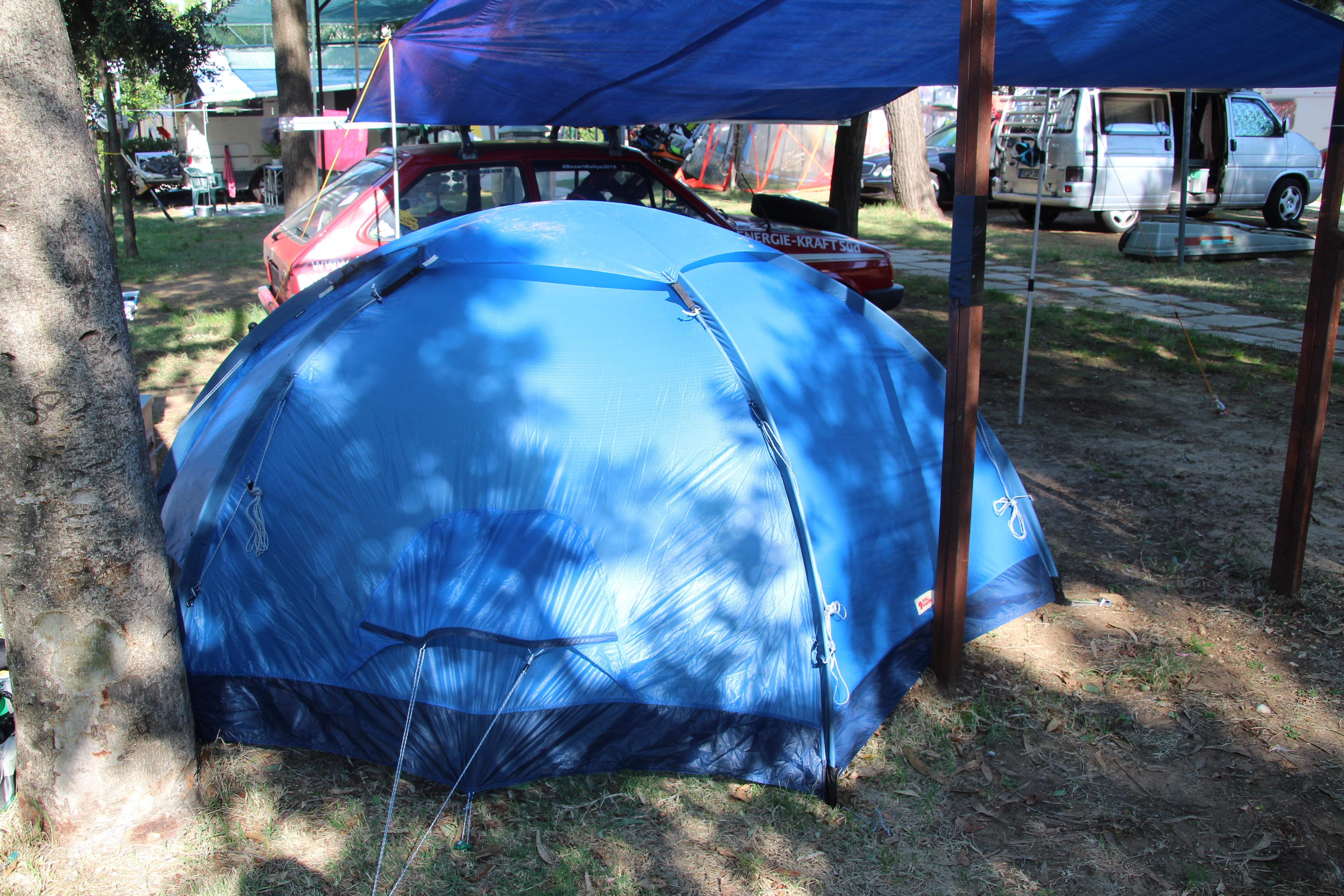 Produkttest: Fjällräven Abisko Dome 2