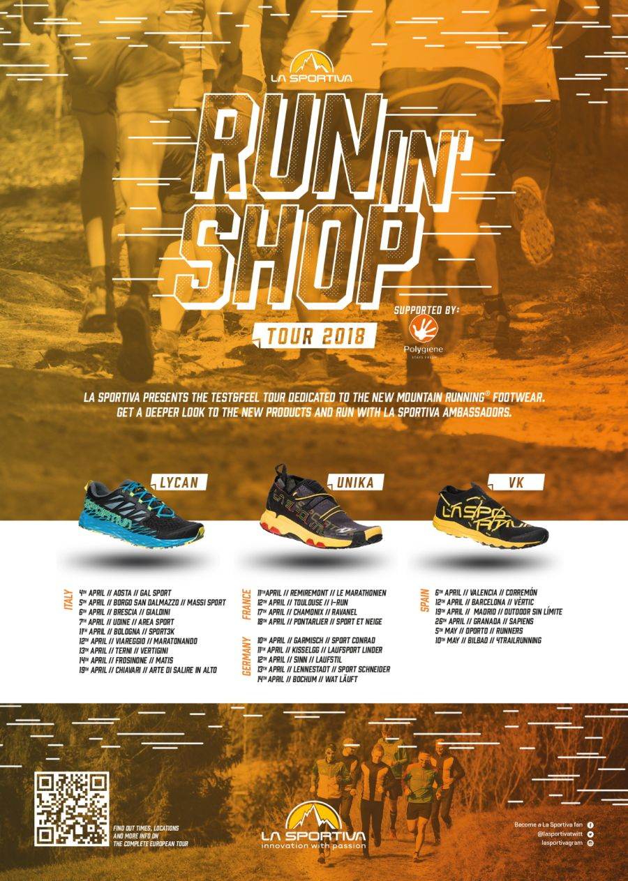 La Sportiva Run In Shop Tour