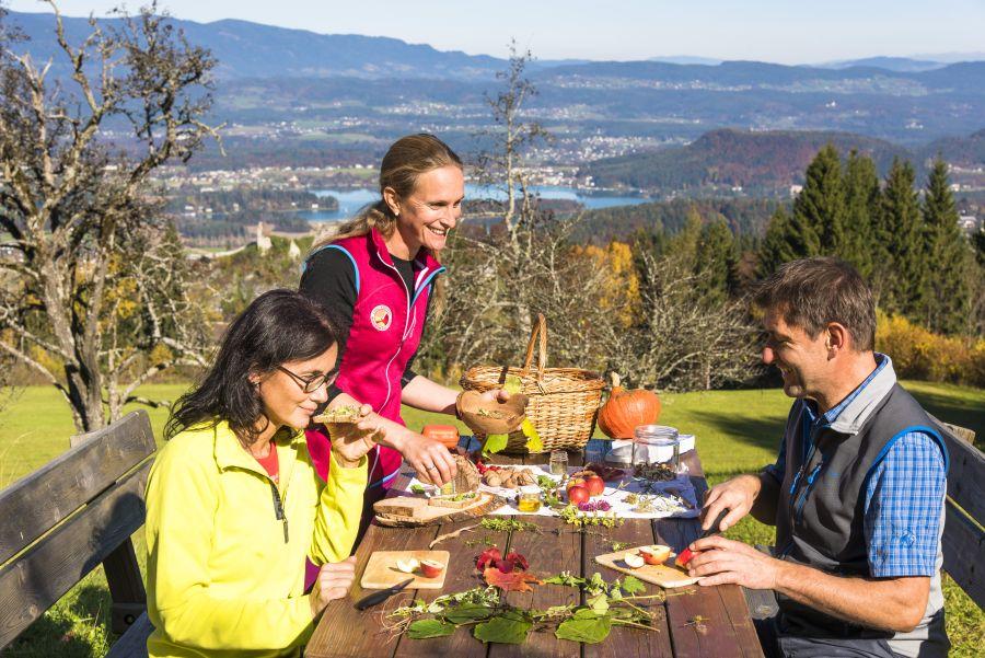 Region Villach Tourismus (c)Franz-Gerdl-Genusswandern am Faaker See