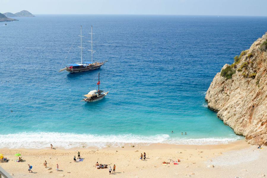 Urlaub in der Türkei kaputas beach ©pixabay