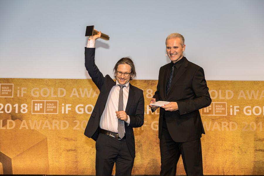 Vaude IF_DesignAward ceremony 2018 Muenchen Mario Schlegel (c)Roman Thomas