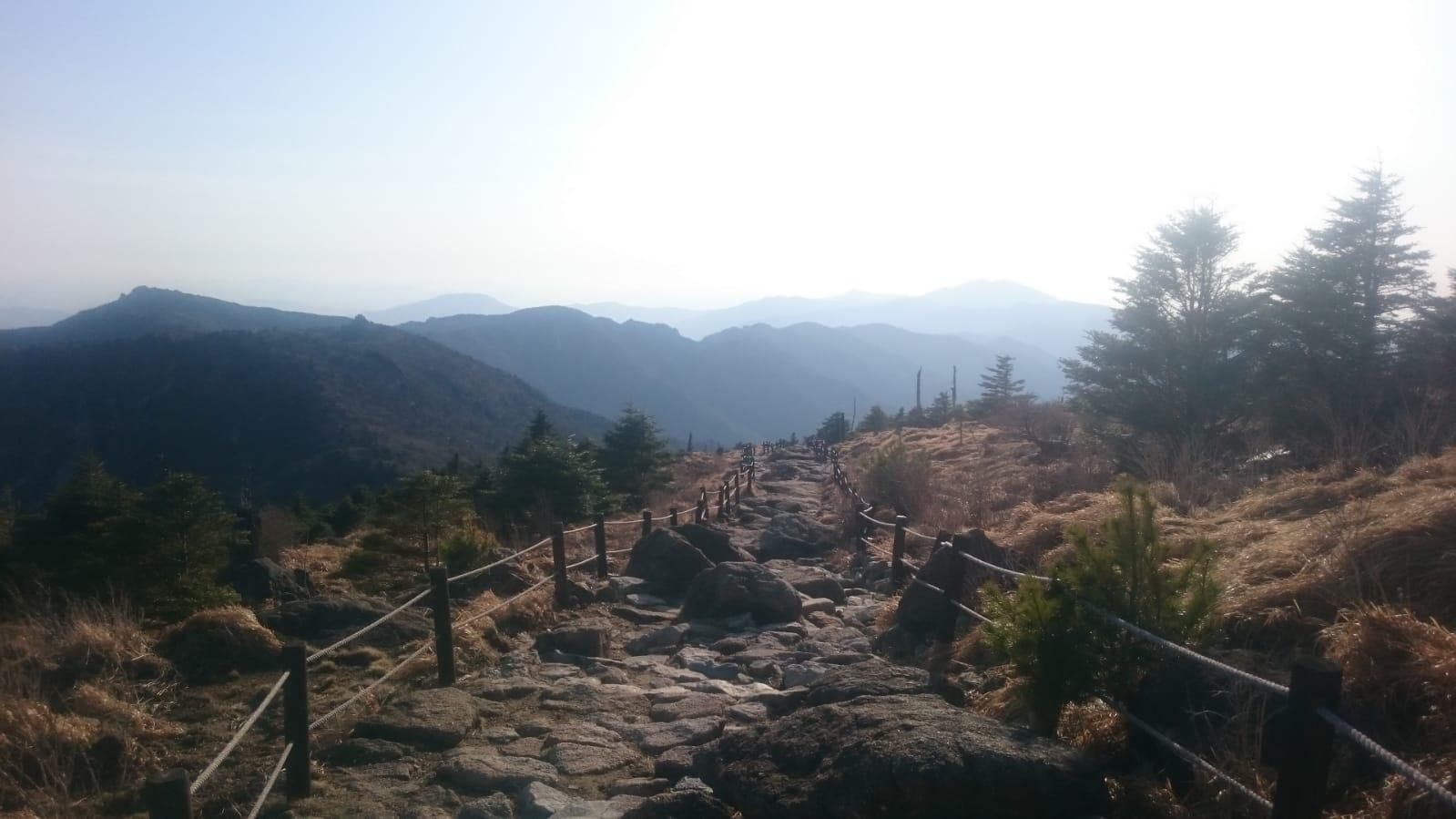 Reisetagebuch Elena und Mateo - Jirisan Nationalpark