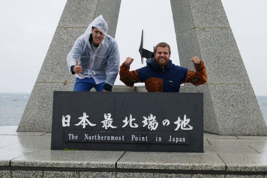 Reisetagebuch Elena und Mateo - Ochotskisches Meer - Cape Soya - nördlichster Punkt Japans