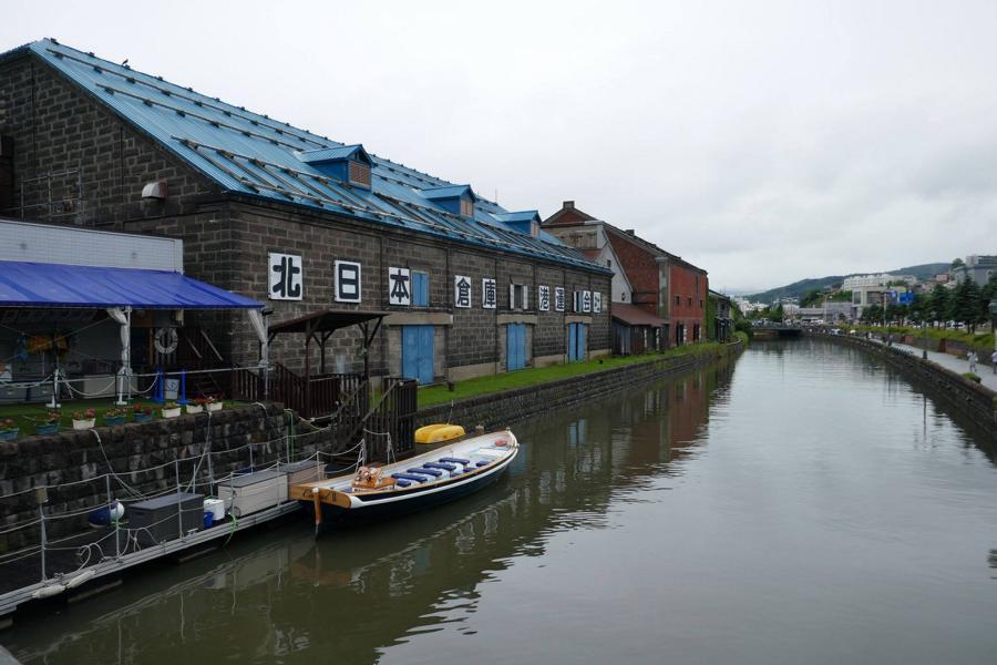 Reisetagebuch Elena und Mateo - Otaru-Kanal
