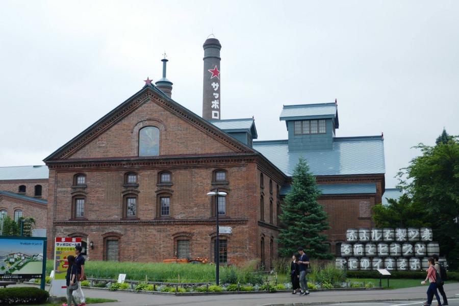 Reisetagebuch Elena und Mateo - Sapporo Brauerei