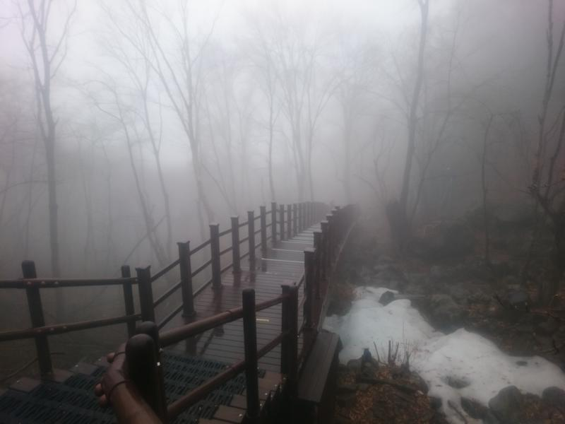 Reisetagebuch Elena und Mateo - Jirisan Nationalpark bei Regen
