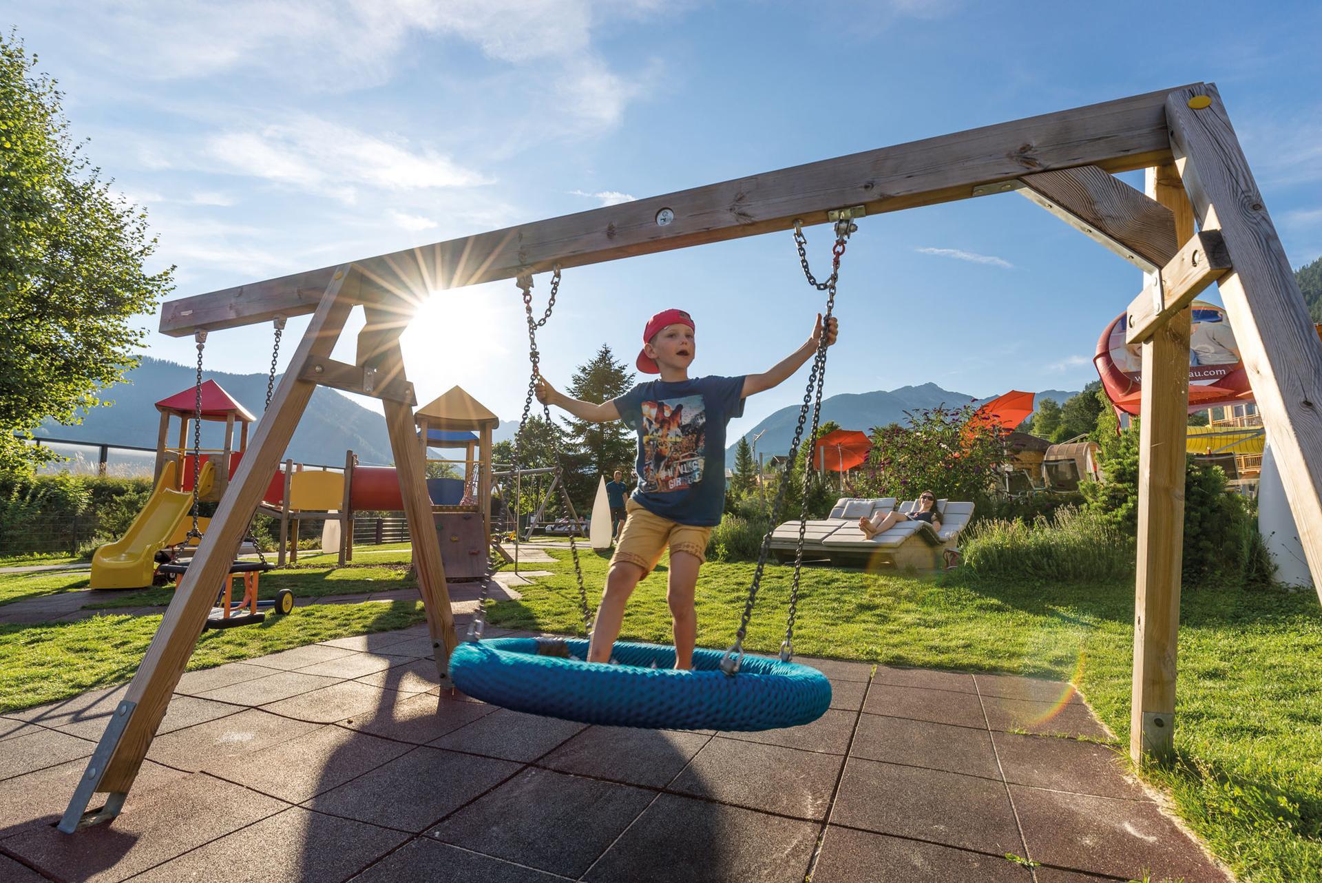 be-outdoor.de auf Tour im Kinderhotel Buchau am Achensee (c) Kinderhotel Buchau