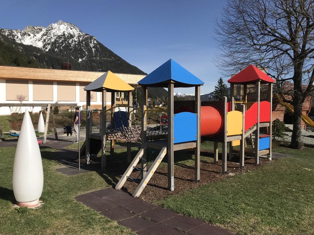 Klettergerüste Kinderhotel Buchau