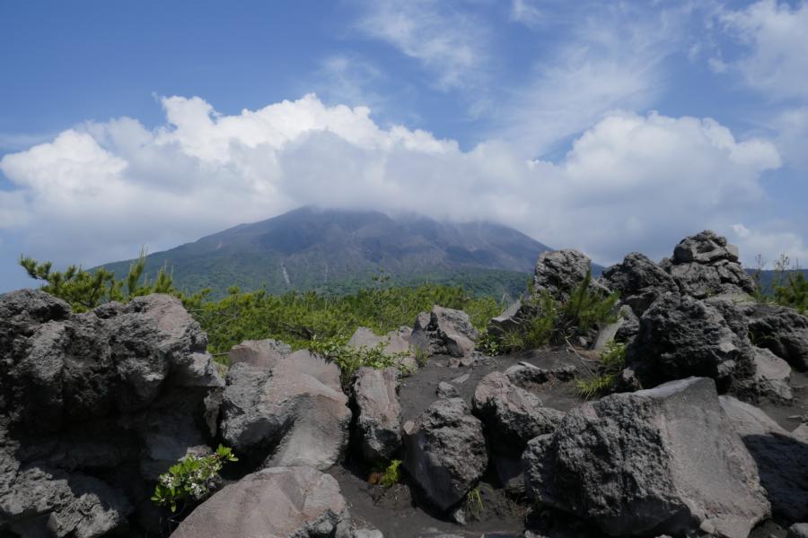 Reisetagebuch Elena und Mateo - Vulkan Sakurajima