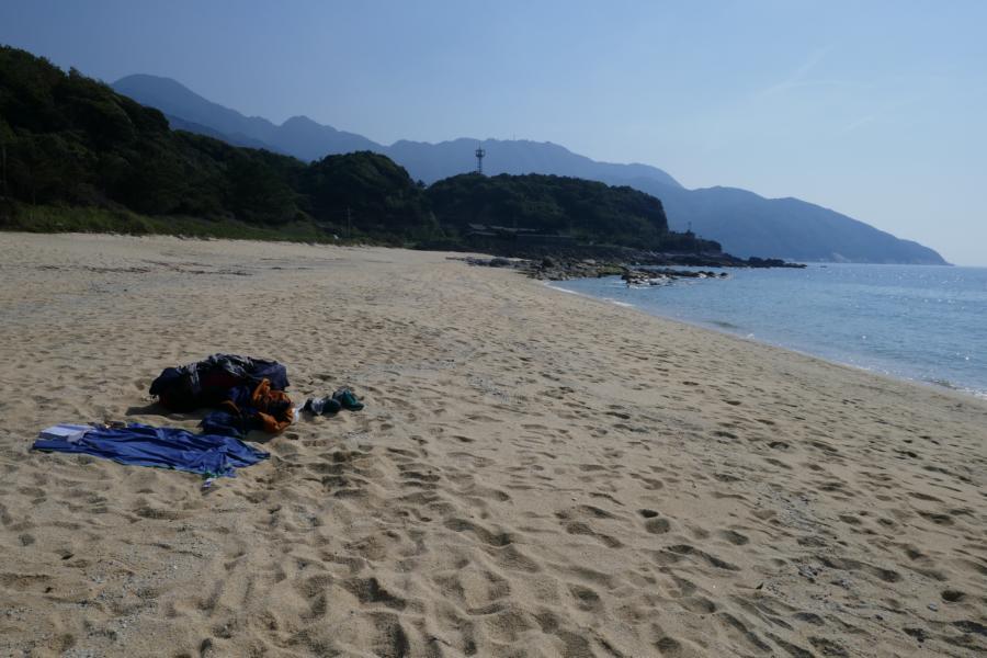 Reisetagebuch Elena und Mateo - Yakushima Insel - Nagata Beach