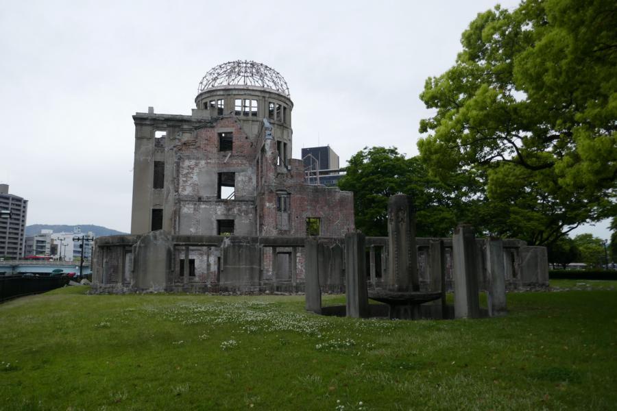Reisetagebuch Elena und Mateo - Hiroshima - Atomic Dome