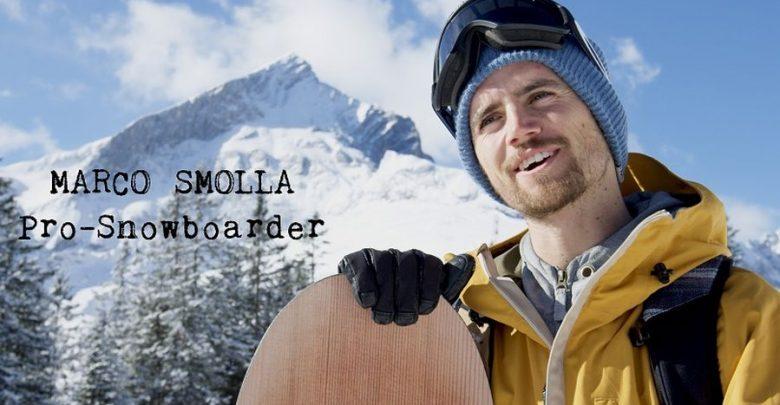 Photo of Snowboardprofi Marco Smolla fährt für moun10 Jugendherberge