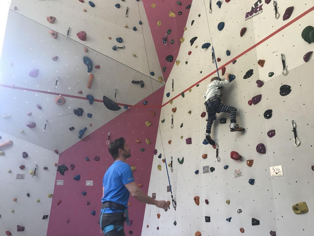 Die Kletter- und Boulderhalle