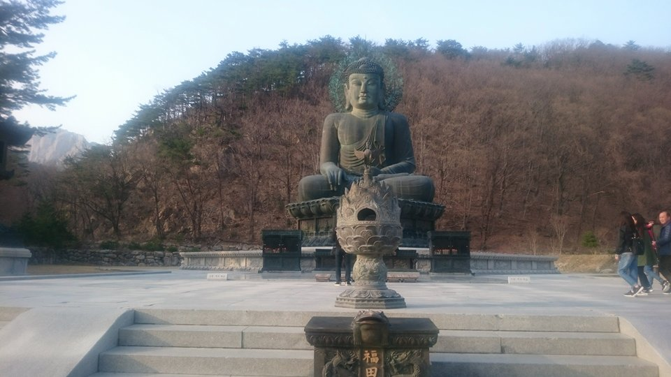 Sieben Monate auf Tour - Seoksan Nationalpark