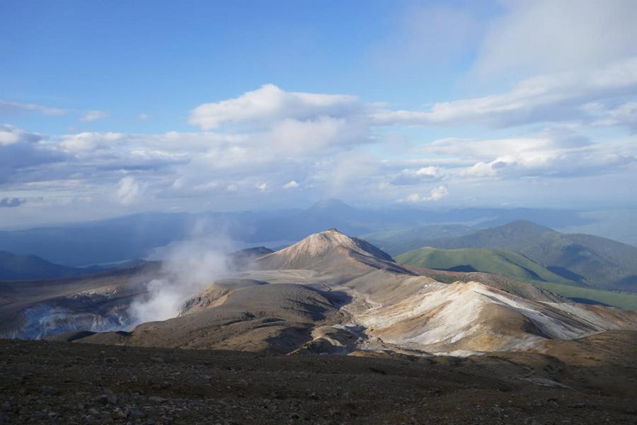 Reisetagebuch Elena und Mateo - Wanderung auf den Vulkan Meakan