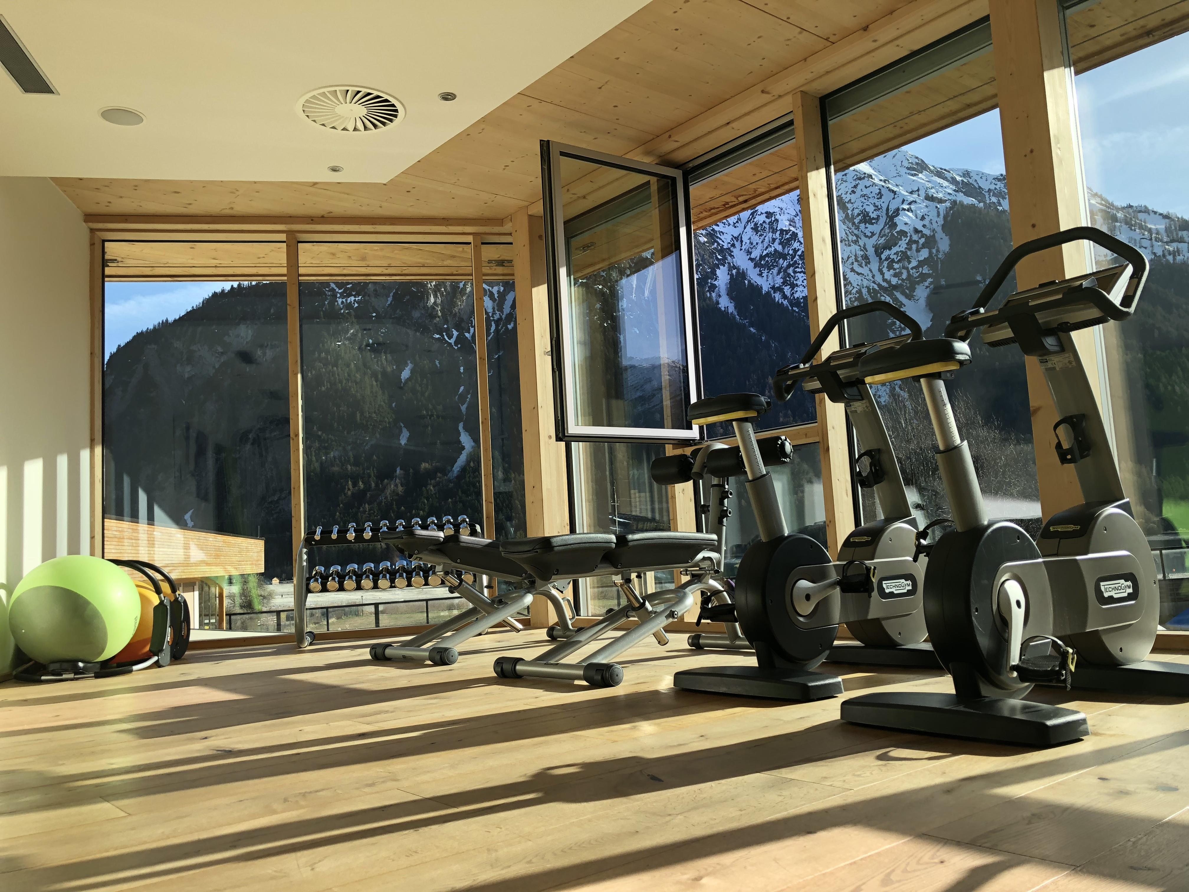 Fitnessraum Im Kinderhotel Buchau