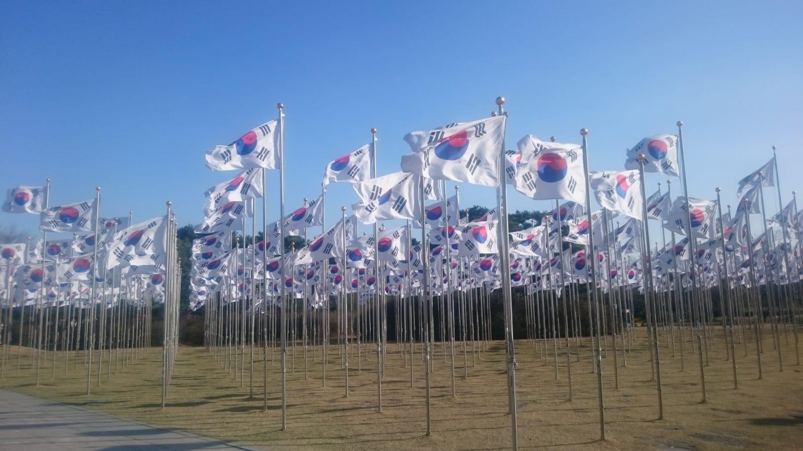 Reisetagebuch Elena und Mateo - Cheonan - Independence Hall
