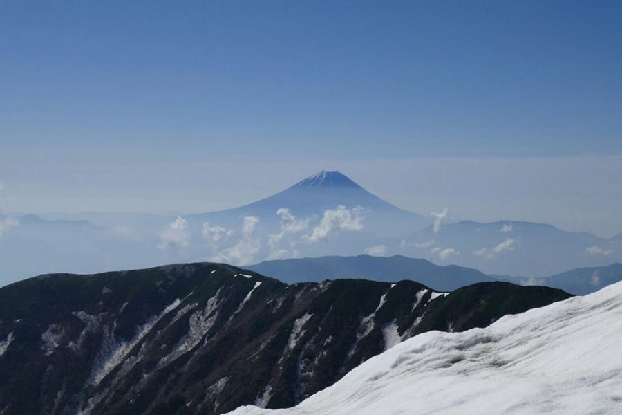 Reisetagebuch Elena und Mateo - Mount Kitadake - Blick auf Mount Fuji