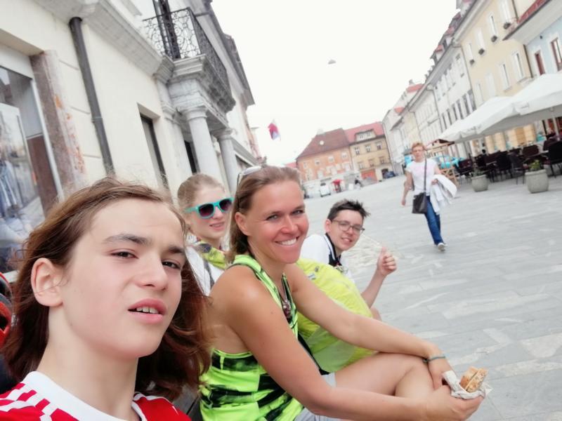 #vonBerchtesgadennachRijeka Radtour Pfingsten 2018 - Von Bled nach Ljubljana: In Kranj