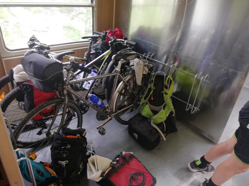#vonBerchtesgadennachRijeka Radtour Pfingsten 2018 - Von Bled nach Ljubljana - Per Zug