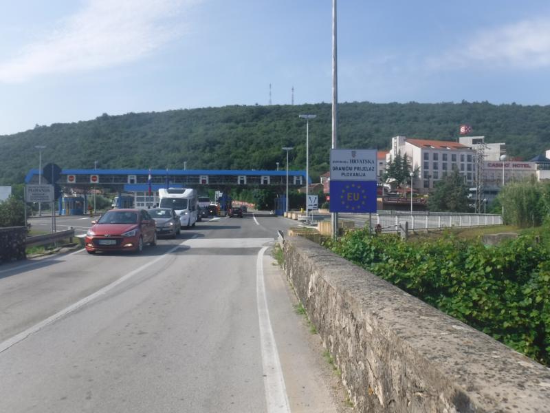 #vonberchtesgadennachrijeka - Tag 8 - von Portoroz nach Porec (Grenze Kroatien)