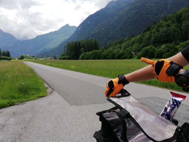 Radtour Pfingsten 2018 - Tag 1 - Nächstes Ziel die Burg Hohenwerfen